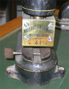 Tampon_sec_machine