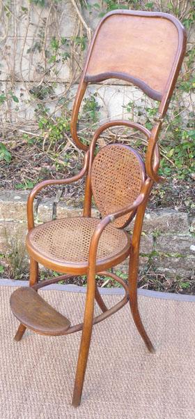 Le Blogue Antiquites Chaise Haute Pour Enfant