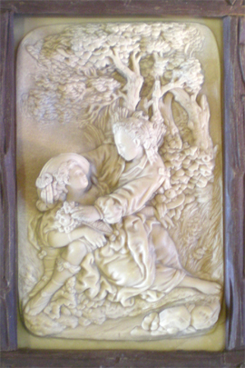 Incrustation_calcaire_saint-nectaire