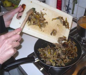 Chanterelles_omelette