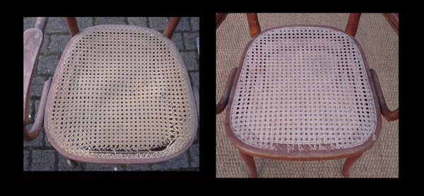 Le blogue antiquit s hommage la chaise n 14 de thonet - Refaire une assise de chaise ...