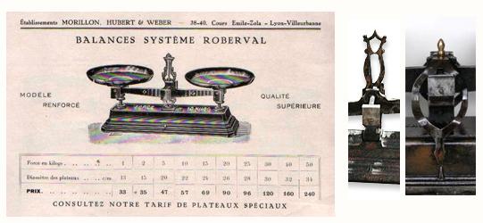 Roberval_systeme_plateaux_aiguilles