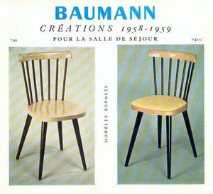 Baumann_chaises_creations_1958