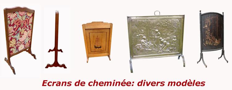Ecrans-cheminee