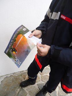 Calendrier-pompiers