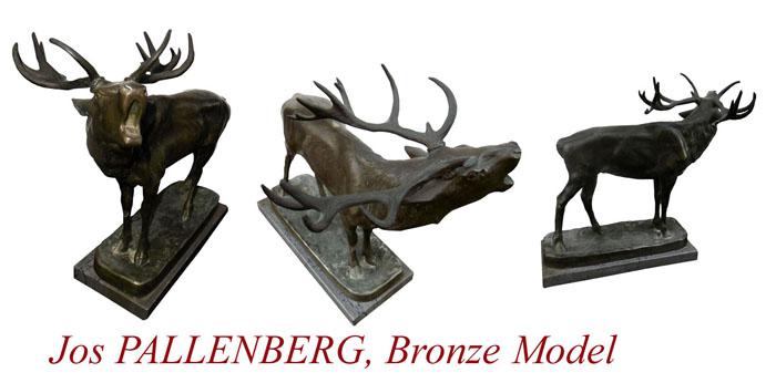 Elk_Bronze-model_Pallenberg