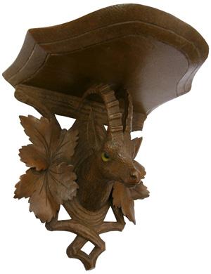 Foret-noire_Suisse_chamois-sculpte