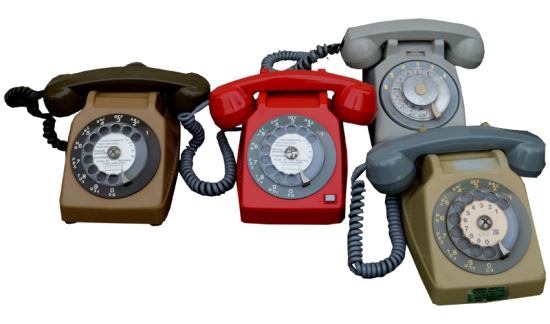 Telephones-vintage