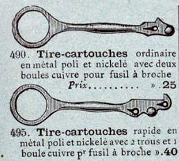 Tire-cartouches