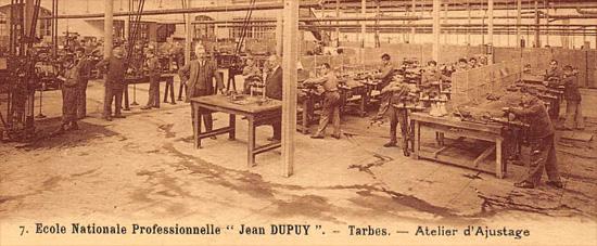 Tarbes_atelier-ajustage_Ecole-Dupuy