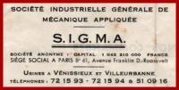 SIGMA-Venissieux