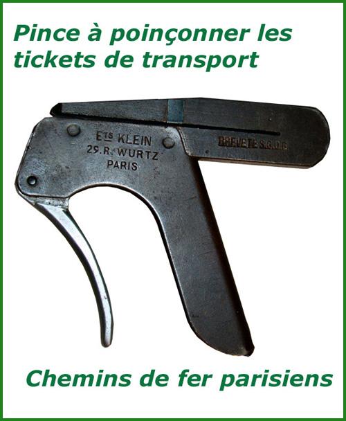 Pince-poinconneuse-tickets-chemins-de-fer-Klein-Paris